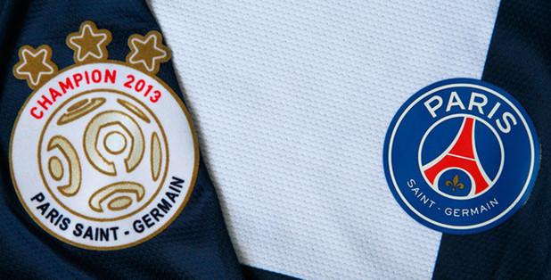 PSG Champs badge 12/13