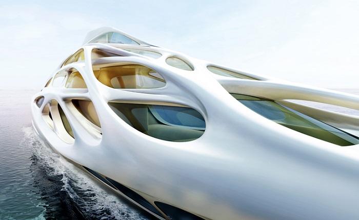Zaha Hadid Yacht design