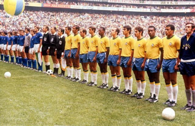 Brasil Copa mundial 1970 no Mexico