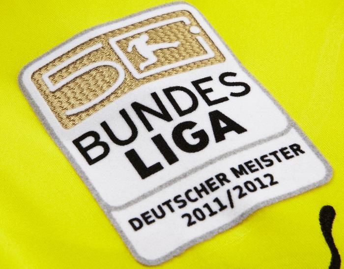 Bundesliga Meister badge gold