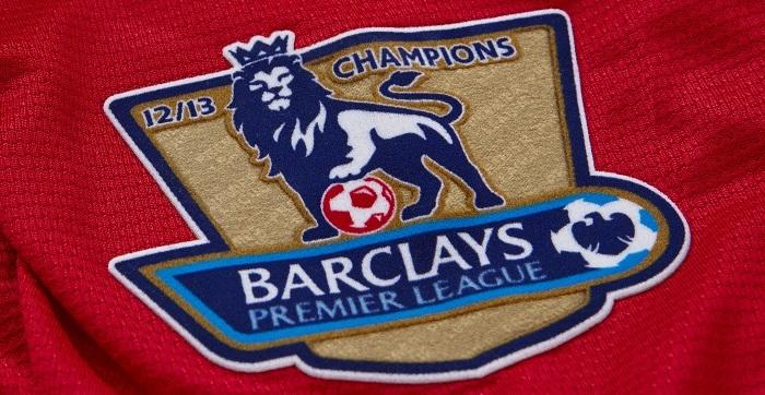 Premier League Champs badge 12/13