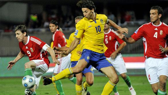 FIFA badge on Sweden jersey