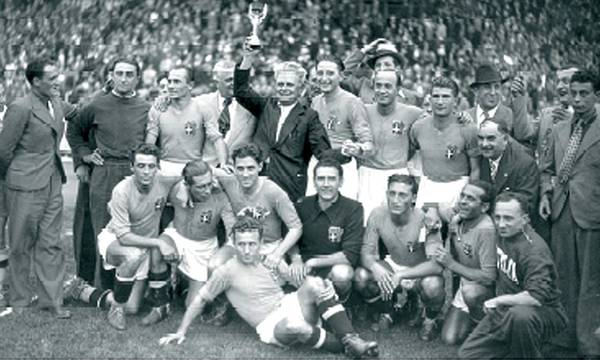 1934 Italy World Cup winners