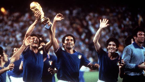 1982 Italy World Cup winners