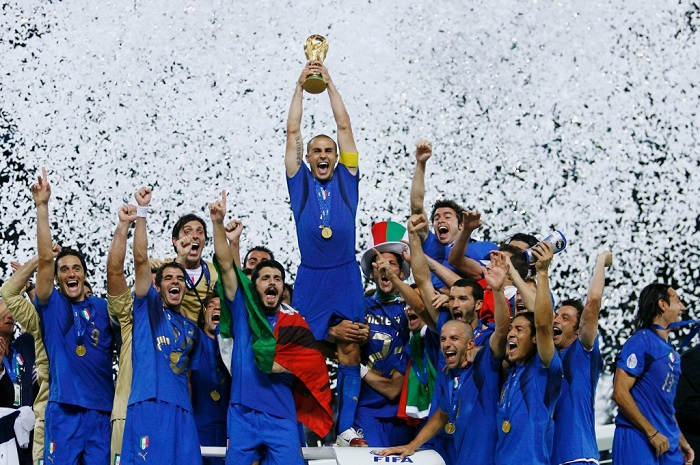 2006 Italy World Cup winners