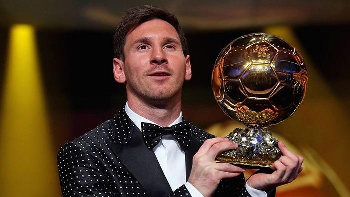 Messi Ballon d'Or 2012