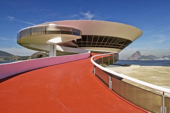 Niemeyer - Museu de Arte Contemporanea de Niteroi, Rio