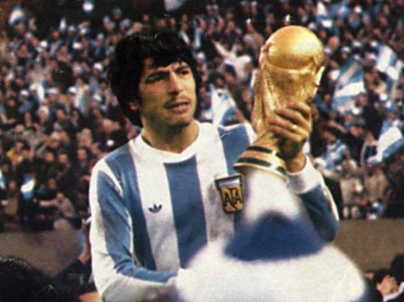Passarella campeon 1978 con Argentina