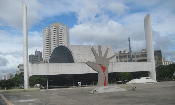 Sao Paulo Niemeyer monument