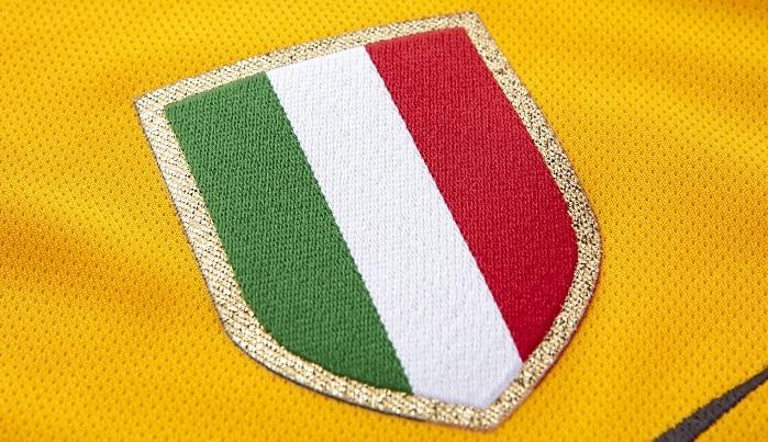 Scudetto badge the Italian Serie A