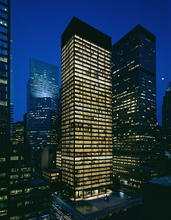 Seagram building New York City