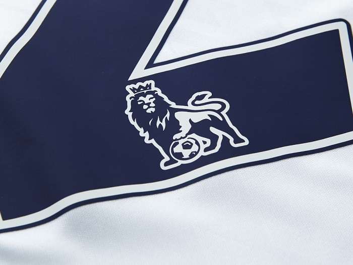 Navy / White numbers EPL logo