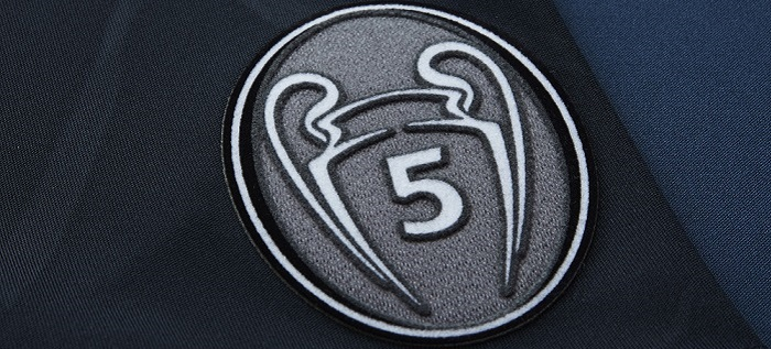 UEFA honors badge 5 Cups FCB