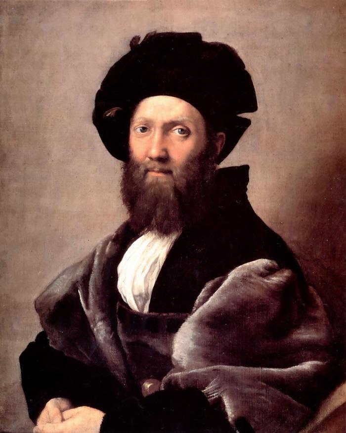 Raphael classical portrait