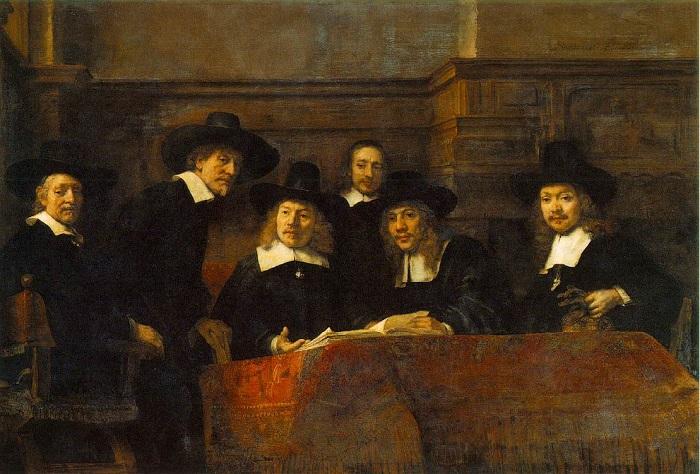 Rembrandt portrait masters