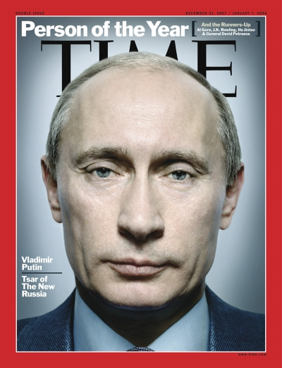 Time Magazine Person of the year 2007 Putin