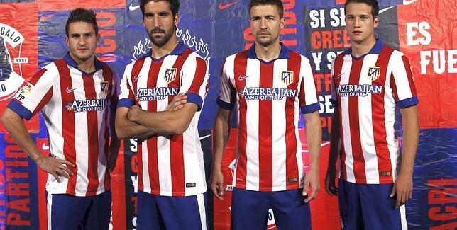 Atletico Madrid home kit 14/15