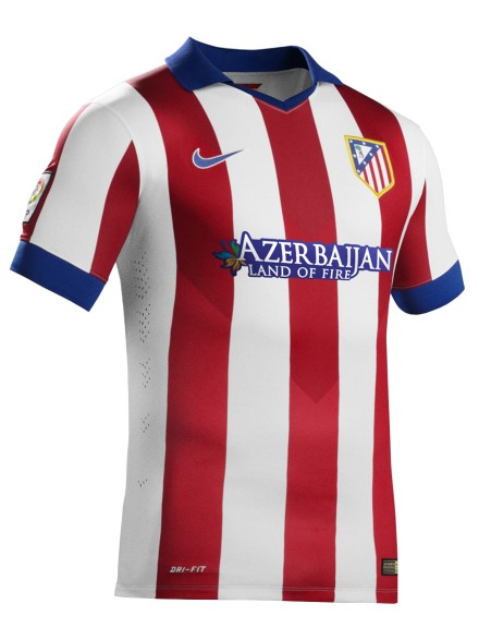 Atletico Madrid home jersey 14/15