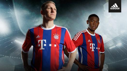 FC Bayern home jersey 2014/15