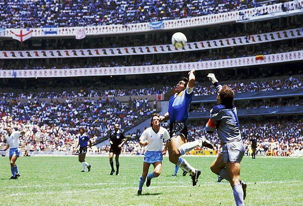 La Mano de Dios 1986 Maradona