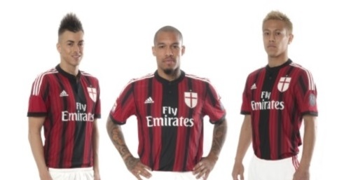 New AC Milan home jersey 2014/15