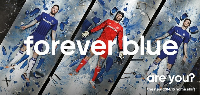New Chelsea home jersey 14/15