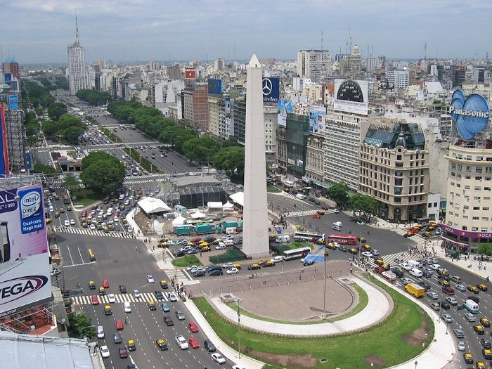 EL Obelisco Buenos Aires Argentina