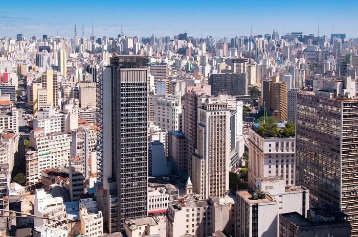 Sao Paulo skyline daytime