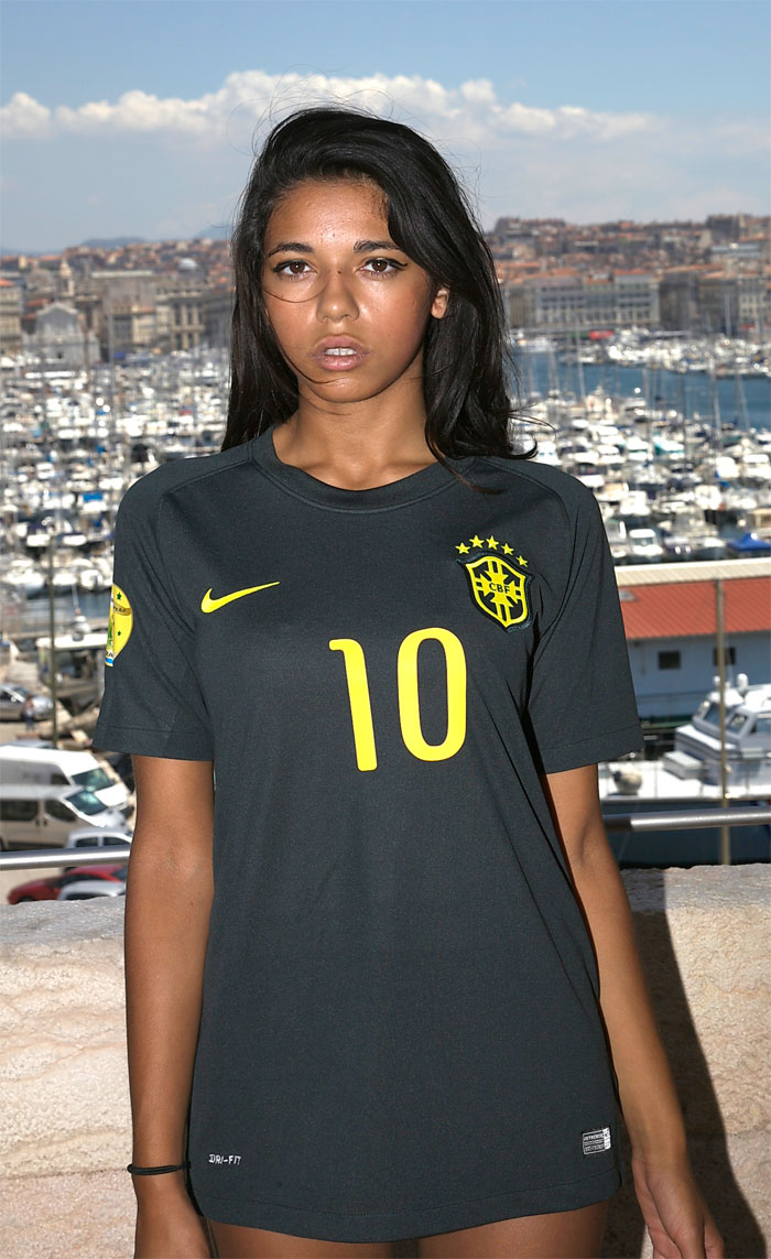 Brazil third jersey World Cup 2014