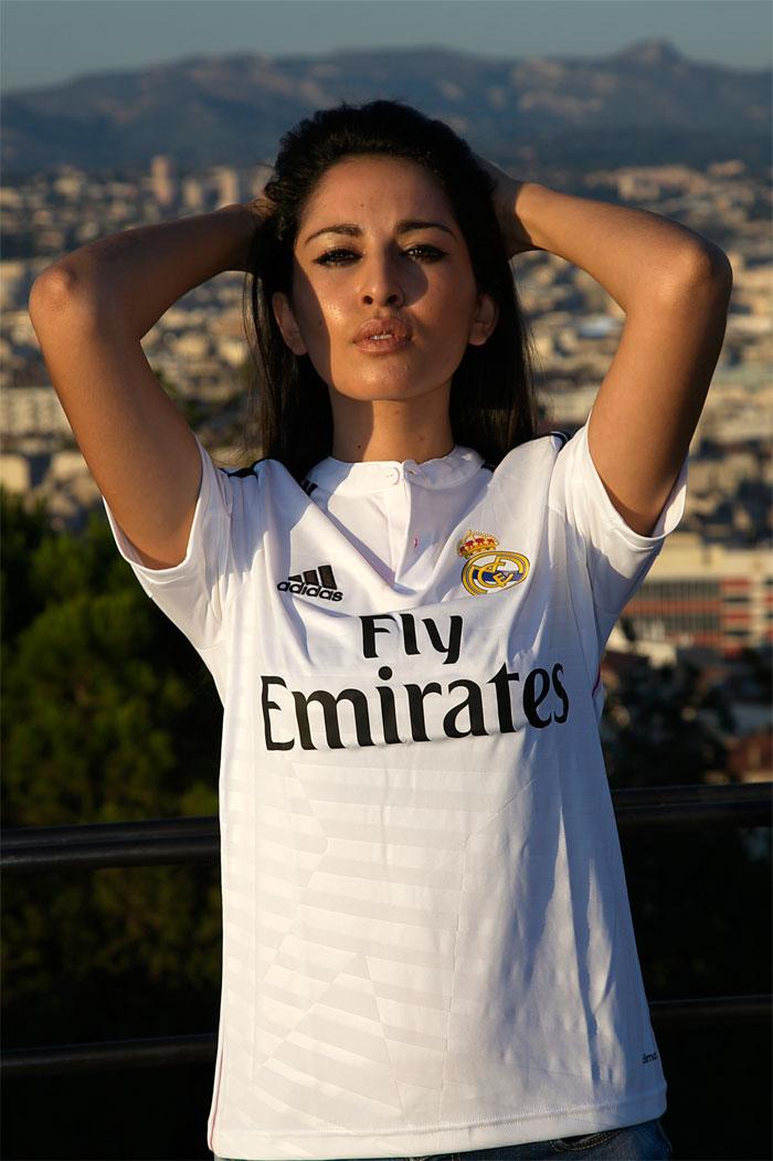 Real Madrid home kit pattern