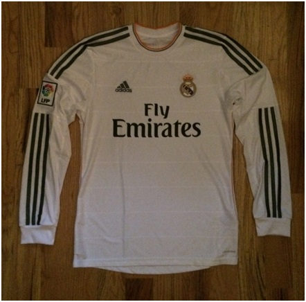Real Madrid home jersey L/S 13/14