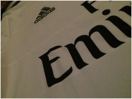 Real Madrid home jersey details