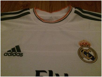 Real Madrid home jersey 13/14