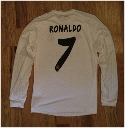 Real Madrid home printing 13/14