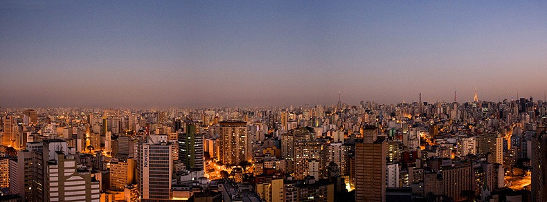 Sao Paulo skyline from downtown