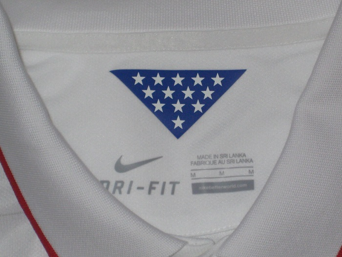 US World Cup 14 home kit