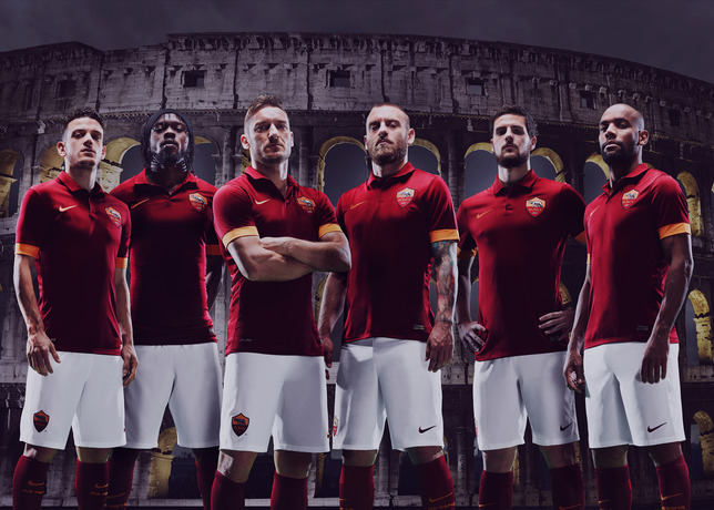New AS Roma home jersey 2014/15