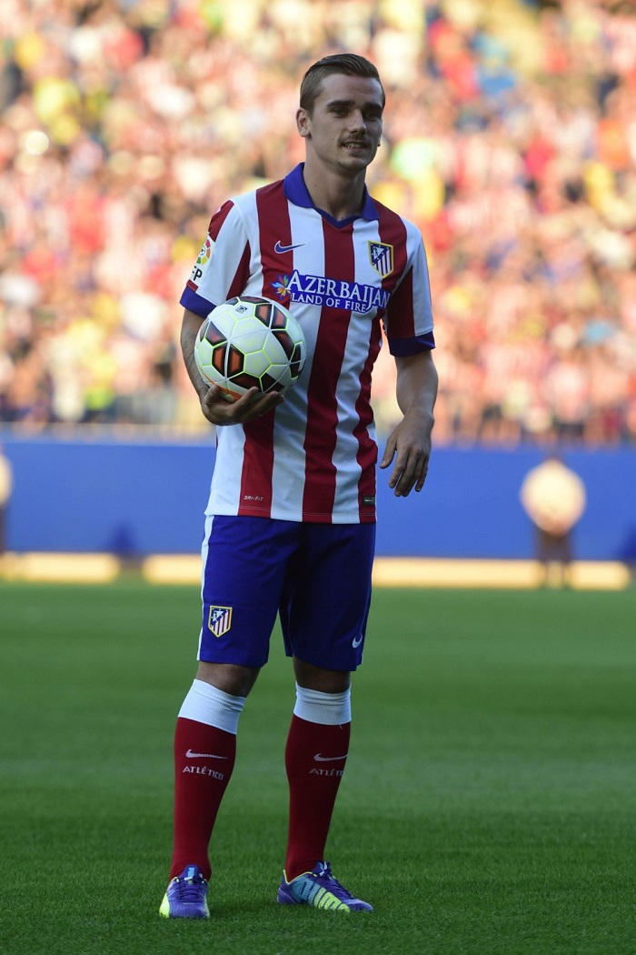 Atletico Madrid shorts and socks