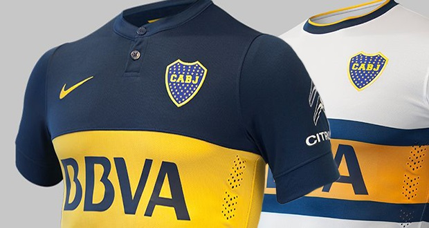 Boca Juniors home jersey 14/15