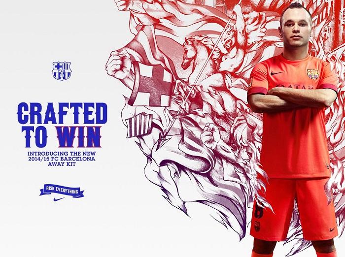 FC Barcelona away jersey 2014/15