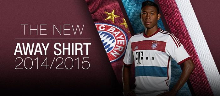 FC Bayern away jersey 2014/15