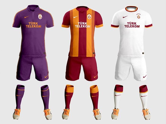 Galatasaray kits 2014/15