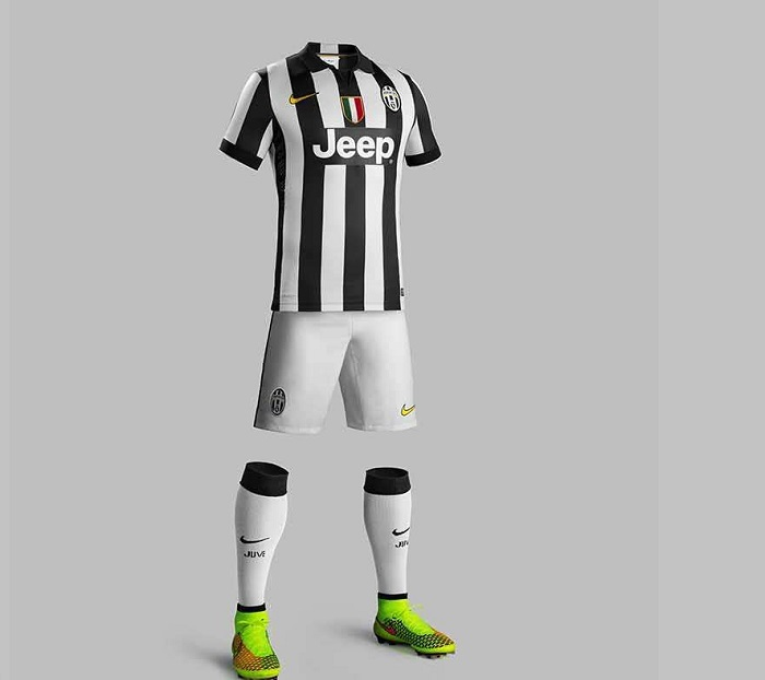 Juventus home kit 2014/15