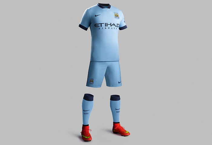 Manchester City home kit 2014/15