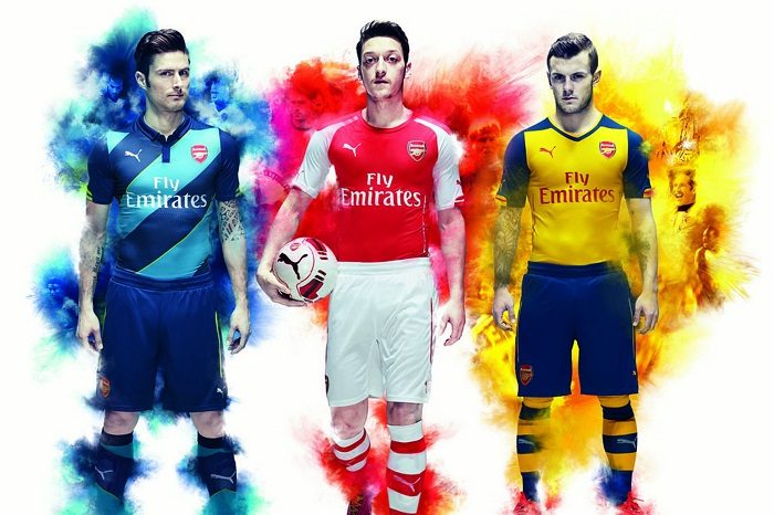 New Arsenal 14/15 soccer kit