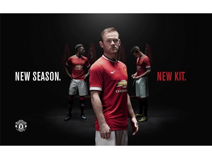 New Manchester United home kit 2014/15