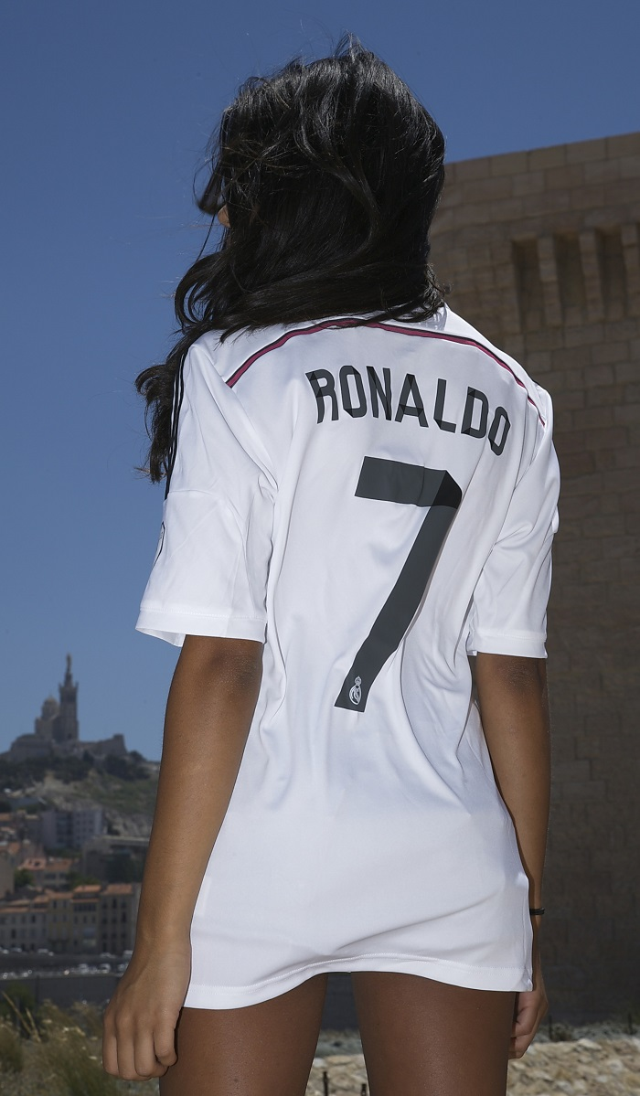 Ronaldo 7 Real Madrid 2014 jersey
