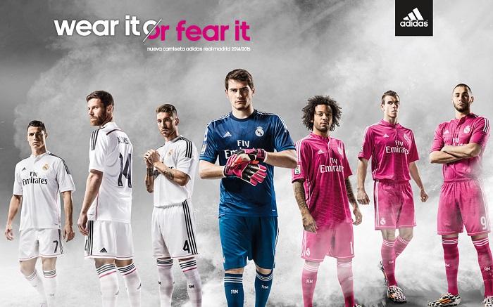 New Real Madrid jerseys 2014/15