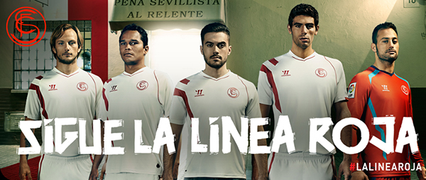 New Sevilla home kit 2014/15