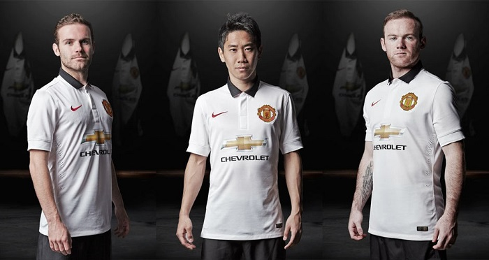Man Utd away kit 2014/15